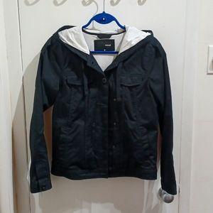 Hurley black coat